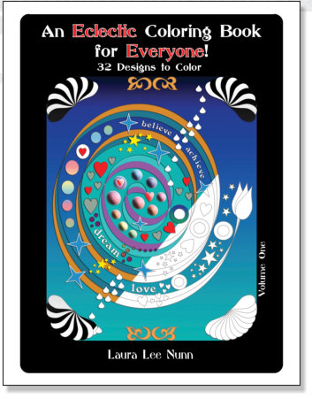 An Eclectic Coloring Book for Everyone! - Laura Nunn